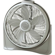 "Lasko 3542 20"" Diameter Cyclone® Fan with Remote Control, 3-Speed, 110V, Light Gray"