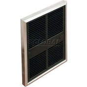 TPI Fan Forced Wall Heaters With Double Pole Thermostat E3055T2DWB - 1500/750W 120V
