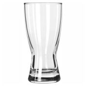 Libbey Glass 1178HT - Glass 10 Oz., Pilsner Hour Glass Heat Treated, 24 Pack