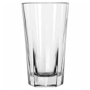 Libbey Glass 15485 - High Ball Glass, DuraTuff Inverness 9 Oz., 36 Pack