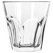 Libbey Glass 15746 - Double Old Fashioned Glass 12 Oz., Glassware, Gibraltar Twist, 12 Pack