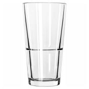 Libbey Glass 15792 - Stacking Mixing Glass 22 Oz., Glassware, Restaurant Basics, 24 Pack