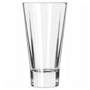 Libbey Glass 15825 - Beverage Glass 14 Oz., Glassware, Quadra V, 12 Pack