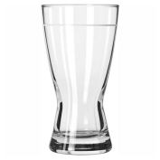 Libbey Glass 181 - Pilsner Glass, Hour Glass 12 Oz., 24 Pack