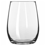 Libbey Glass 260 - Taster 6.25 Oz., Glassware, Stemless, 12 Pack