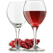 Libbey Glass 3014 Wine Glass Perception Clear Red 13.5 Oz., 24 Pack by Wine Glasses