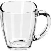 Libbey Glass 5352 - Square Mug 14 Oz., 12 Pack