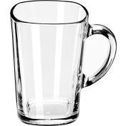 Libbey Glass 5380 - Tall Square Mug 16 Oz., 12 Pack
