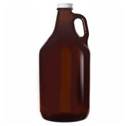 Libbey Glass 70217 - Amber Growler With Lid 64 Oz., 6 Pack