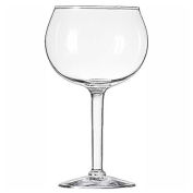 Libbey Glass 8415 Wine Glass 13.75 Oz., Gourmet Round, 12 Pack