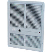 TPI Fan Forced Wall Heaters With Summer Fan Switch E3312T2SRP - 1000W 120V Ivory