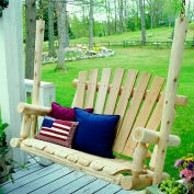 Lakeland Mills 4 Ft Porch Swing - Unfinished/Natural