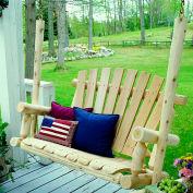 Lakeland Mills 4 Ft Porch Swing - Unfinished/Natural