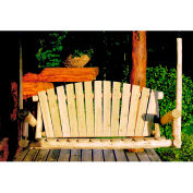 Lakeland Mills 5 Ft Porch Swing - Unfinished/Natural