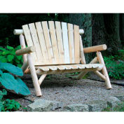 Lakeland Mills 4 Ft Love Seat - Unfinished/Natural