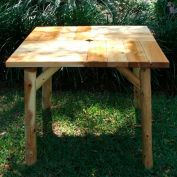 36'' Square Picnic Table