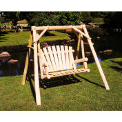 Lakeland Mills 4 Ft Yard Swing - Unfinished/Natural