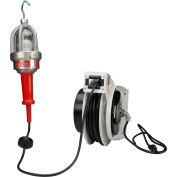 Larson Electronics EHL-LED-7W-GCR50-515, Explosion Proof LED Light on Wet Loc 50' Cord Reel,C1D1
