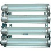 Larson Electronics EPL-24-4L-LED-PND, Explosion Proof 2f 4-Lamp LED Light Pendant Mount