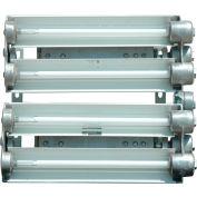 Larson Electronics EPL-EMG-24-4L-T8-PND, Explosion Prf EMG 2f 4-Lamp T8 Light Pendant Mount