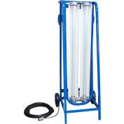 Larson Electronics EPLCD-48-2L-LED-1227-5600K-1523, Expl Proof Paint Spray Booth LED Light on Cart