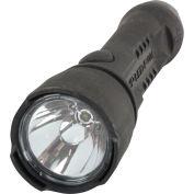 Larson Electronics EXP-LED-F4W-BLK, Explosion Proof LED Flashlight - 4W, Push Button Switch - Black