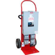 Larson Electronics MDC-240-200MB-8X120-2X240, Mobile Power Dist Ctr- 240V In, 8-120v GFCI & (2) 240V