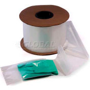 White Front / Clear Back, Pre-Opened Bags 2 mil, 9X12.5, 1000 per Roll, Clear