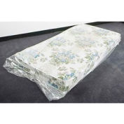 "Mattress Bags, Fits Full Size, 54"" x 8"" x 90"" 1.5 Mil Clear, 100 per Roll"
