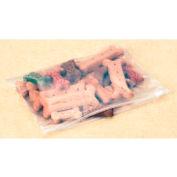 Slider Top Reclosable Bags 3 Mil, 10X7, 250 per Case, Clear