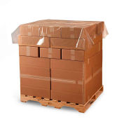 """Poly Pallet Top Sheeting, 48""""W x 48""""L 1.5 Mil Clear, 600 per Roll"""