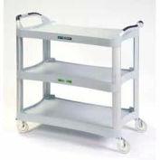 Lakeside® 2510 Plastic Utility Cart 500 Lb. Capacity - Light Gray