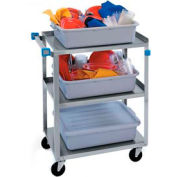 Lakeside® 322 Stainless Steel Utility Cart 30-3/4 x 18-3/8 x 33 300 Lb Cap