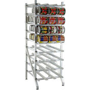 Lakeside® 331-Aluminum Stationary Can Rack, 108 (#10 Cans), 144 (#5 cans)