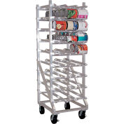Lakeside® 335-Aluminum Full Sized Can Rack, 216(#10 Cans),297(#5 Cans)