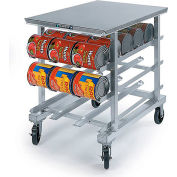 Lakeside® 336 Poly Top Work Height Can Rack - 54(#10 Cans), 72(#5 Cans)