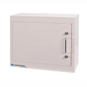 Lakeside® Narcotic Cabinet with 1 Adjustable Shelf, Single Door/Double Lock, Beige