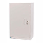 Lakeside® Narcotic Cabinet with 2 Adjustable Shelves, Double Door/Double Lock, Beige
