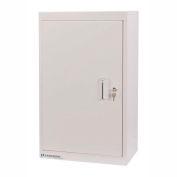 Lakeside® Narcotic Cabinet with 2 Adjustable Shelves, Double Door/Double Lock, Beige