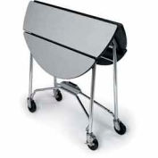 Lakeside® Folding Room Service Table - Round