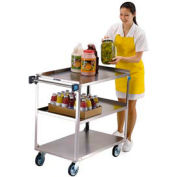 Lakeside® 444 Stainless Steel Utility Cart 39-1/4 x 22-3/8 x 37-1/4 500 Lb Cap