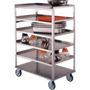 Lakeside® 462 Stainless 6 Flush Shelf Truck 51-3/8 x 22-1/4 x 50-3/8 500 Lb Cap