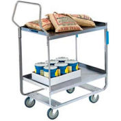 Lakeside® 4744 HD Handler Stainless 3 Shelf Cart 38 x 22 x 49 700 Lb Cap