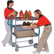 Lakeside® 5915 NSF HD Ergo-One 3 Shelf Cart 35-3/8 x 18-5/8 x 46-3/4 700 Lb Cap