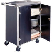 Lakeside® 615LM 4 Shelf Sd Bussing Cart - 27-3/4X16-1/2 Light Maple