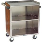 Lakeside® 622 3 Shelf Md Bussing Cart - 30-3/4X19 Walnut