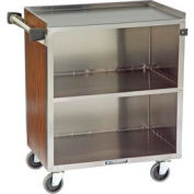 Lakeside® 622LM 3 Shelf Md Bussing Cart - 30-3/4X19 Light Maple