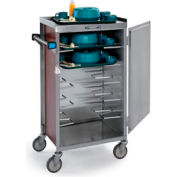Lakeside® Late Tray Cart - Light Maple