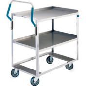 Lakeside® 6800 Ergo-One System Stainless Steel Cart 28 x 16 x 44 500 Lb Cap