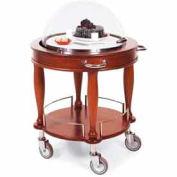Geneva Lakeside Round Dessert Serving Cart w/ Dome Display, 70021